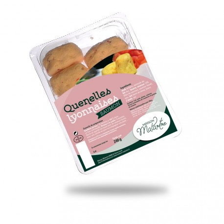 Spécialité quenellière de saumon