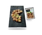 Escargots de Bourgogne préparés en barquette