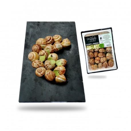 Une Douzaine Escargots de Bourgogne TG au beurre persillé