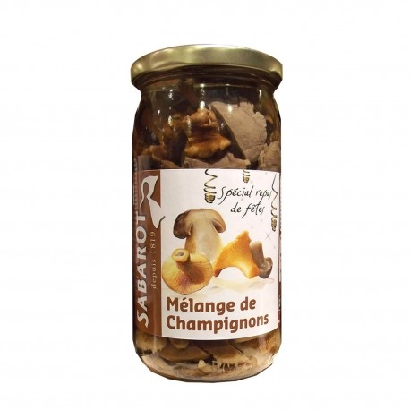 Mélange festf champignons bocal 37cl