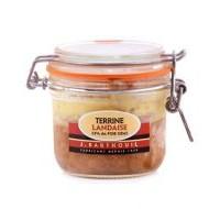 Terrine landaise 25%foie gras 190g