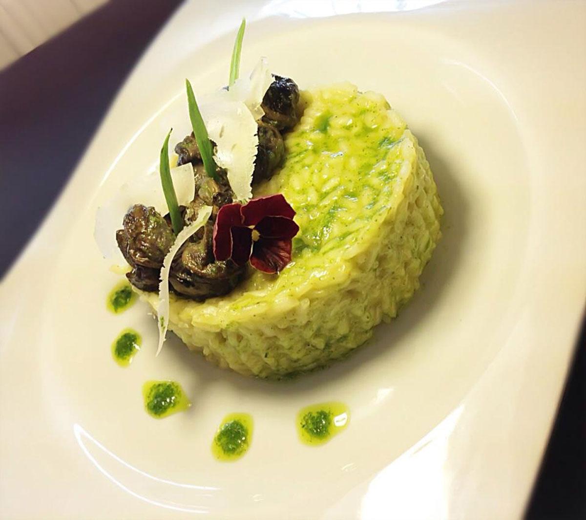 escargot de Bourgogne cuisinés