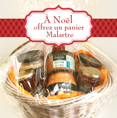 Idée cadeau : le panier gourmand, une valeur sûre pour Noël!