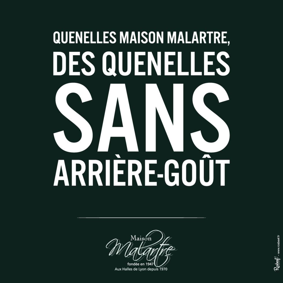 Les Quenelles de la Maison Malartre à l'assaut de Paris !