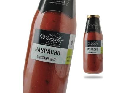 Un Gaspacho gorgé de soleil, s'il vous plaît !